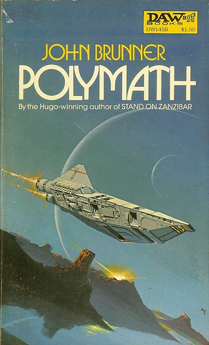 Polymath - John Brunner - cover artist - Attila Hejja