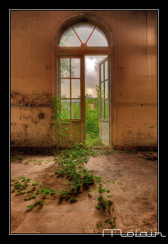 Abandoned psychiatric hospital Santpoort