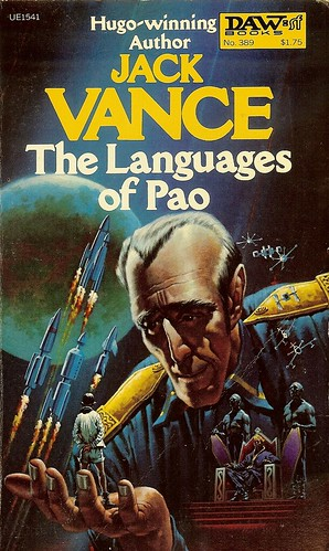 Languages of Pao - Jack Vance - cover artist H.R. van Dongen