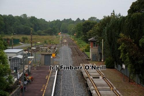station railway signals tipperary birdhill semaphore 2011 signalcabin finbarroneill finnyus