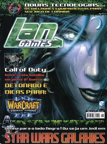 Capa para Revista Lan Games*