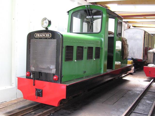 Frances, Torosay Railway Depot, The Mull & West Highland Narrow Gauge Railway Company, Isle Of Mull