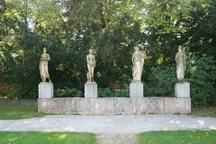 Figurengruppe Urteil des Paris von Landolin Ohmacht