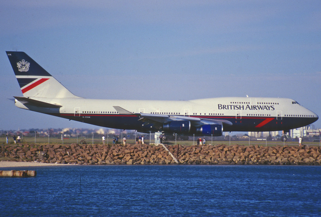 70dq - British Airways Boeing 747-436; G-CIVK@SYD;04.09.1999