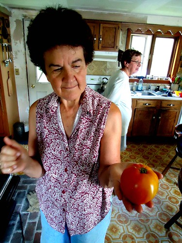 her best tomato
