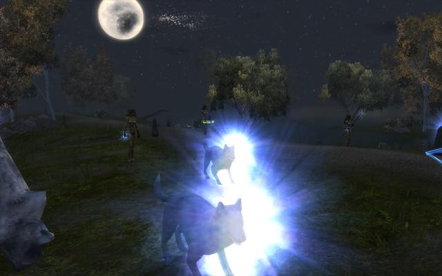 telthor wolves, dryads