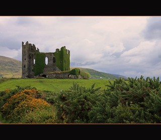 Ballycarberry Castle, Ring of Kerry, Ireland