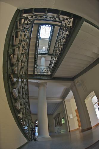 Im Treppenhaus meiner Schule