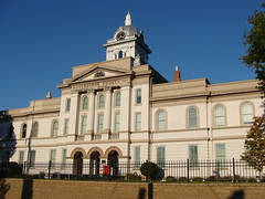 Cleburne County Alabama Court House Heflin AL