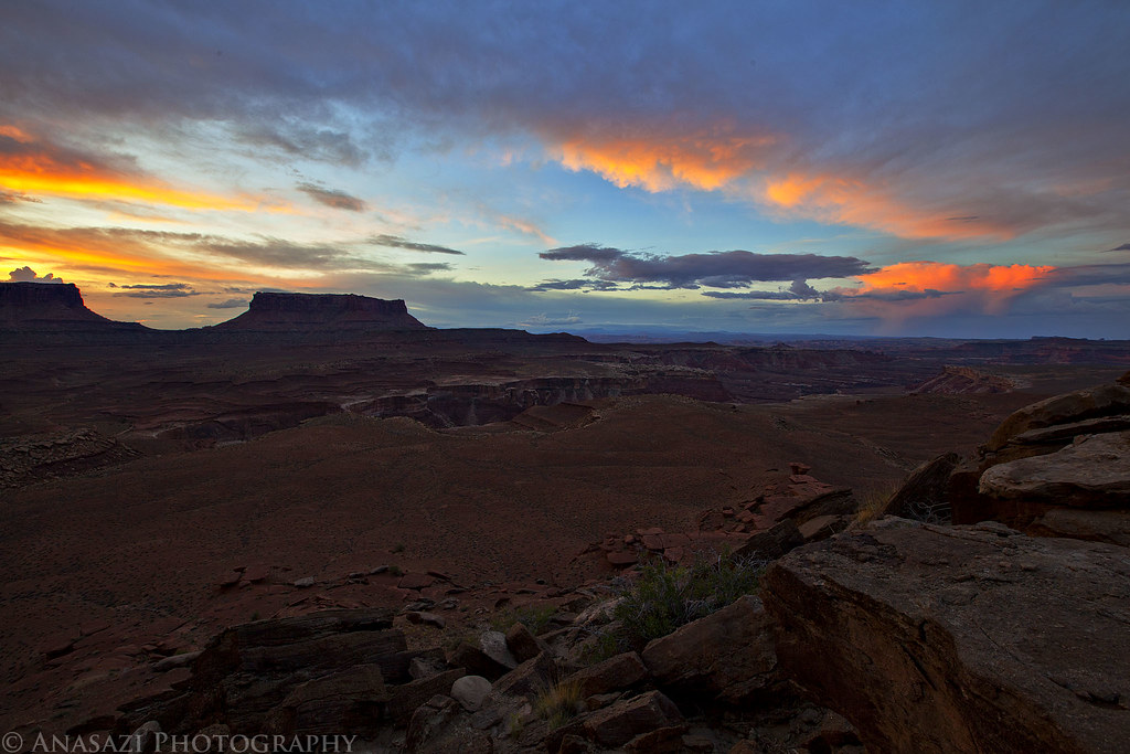 White Rim Sunrise