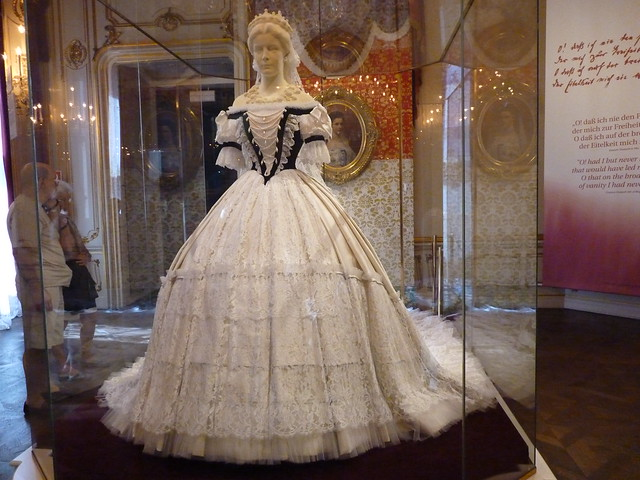 few dress pictures were taken from the web, but I did visit the Sissi ...