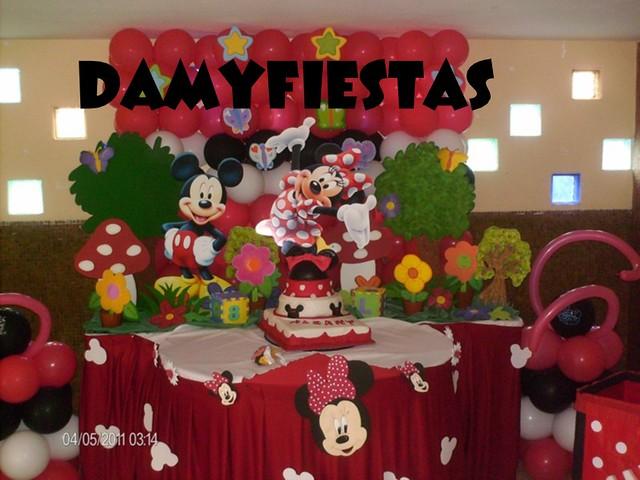 Decoracion Minnie Roja ~ Minnie roja decoraci?n  Imagui
