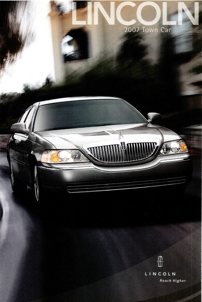 2007 Lincoln Town Car (USA)