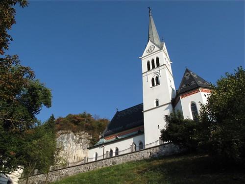 Church of St Martin, Bled, Slovenia
