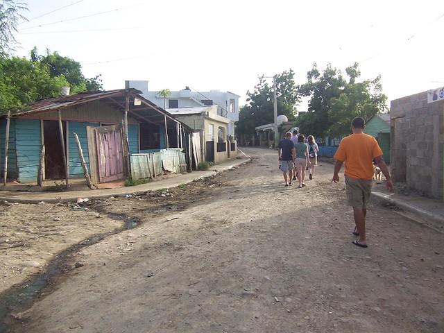 walking to a colmado