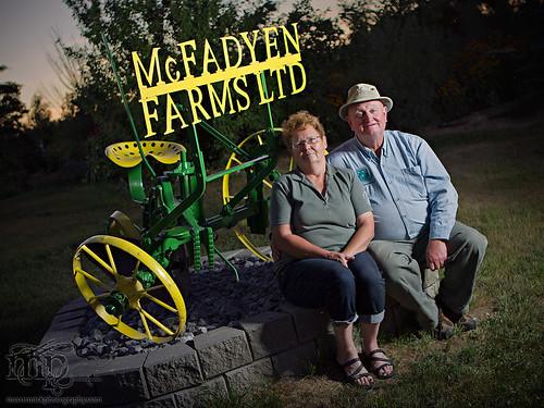 Acadia Valley B&B: Shirley & Bert [3 of 3]