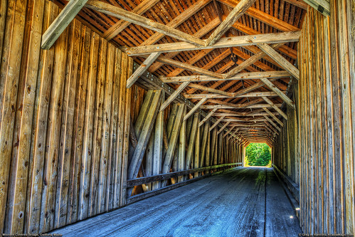Covered Bridge, Piscataquis River