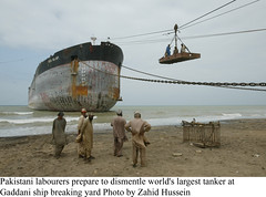 Gaddani Ship Breaking by Zahid Hussein