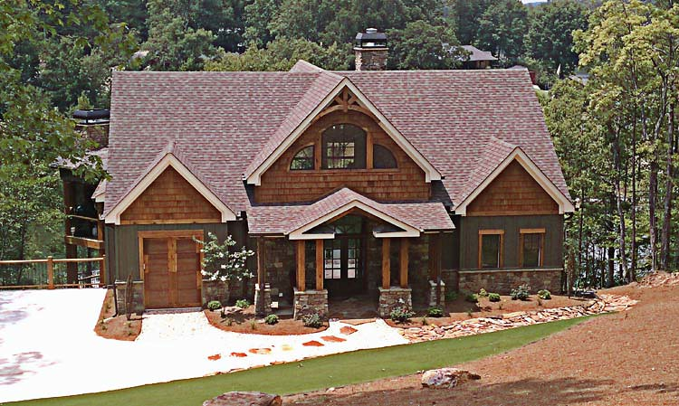 Mountain house floor plan photos asheville mountain house for Mountain house plans