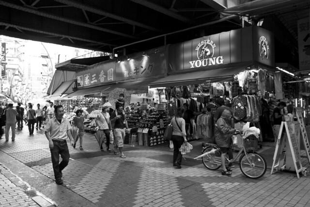 Ameyoko flea market
