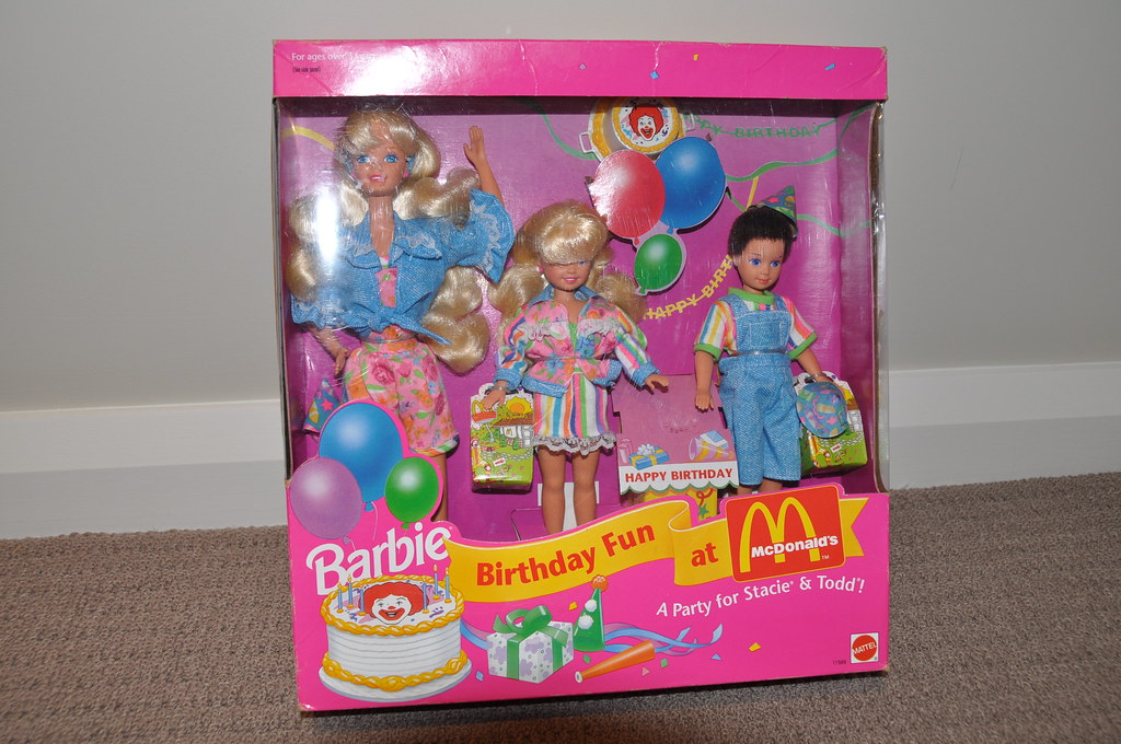Barbie Birthday Fun At McDonalds Dolls