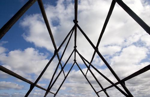 blue sky black history clouds bars bovallstrand bovall vabock