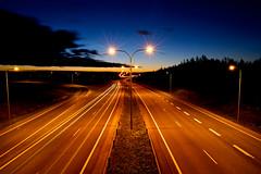Highway and Midnight Sky