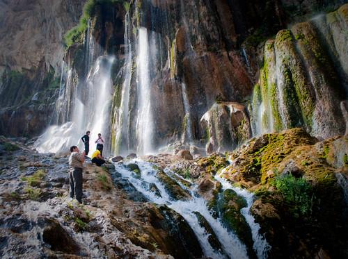 waterfall iran margoon iranmap iranmapcom