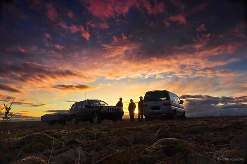 sunset iceland sólarlag sólsetur hphson sonyslta55