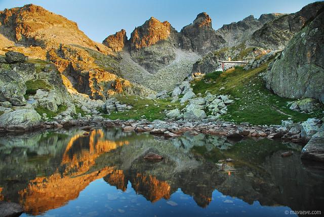 Strashno ezero refuge , Rila mountain , Bulgaria