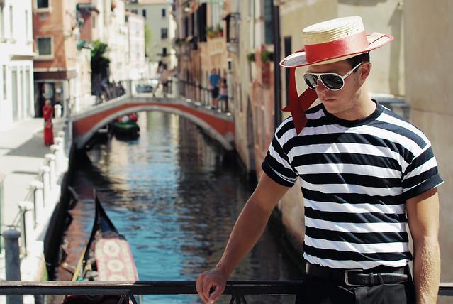 イタリア ヴェネツィアの男性