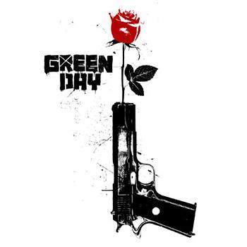 Green-Day-Logo-Gun-and-Rose-43081243026_xlarge | Flickr ...
