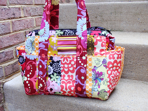 Watermelon Wishes custom diaper bag