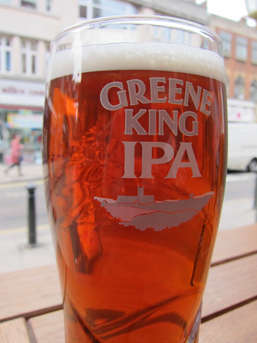 Pint of Greene King IPA