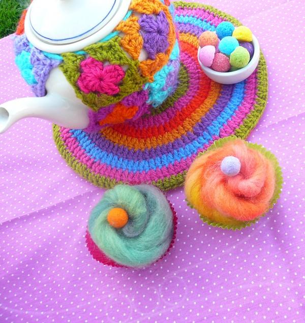 crochet tea