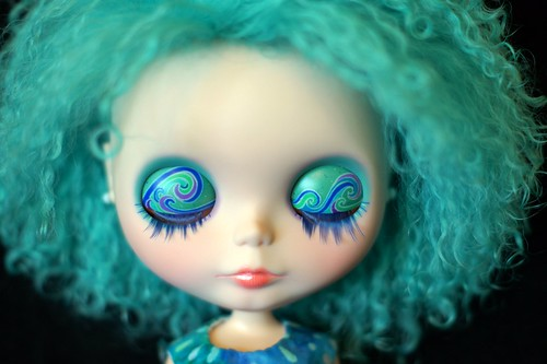 Oceana Custom #26 ~ Eyelids & Lashes
