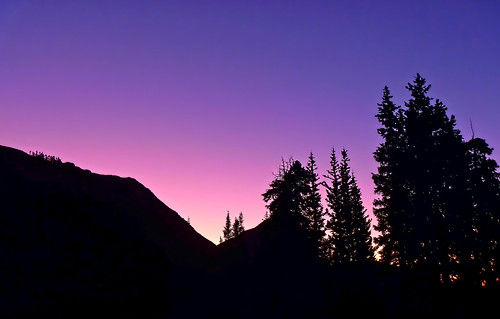 Backcountry Sunset