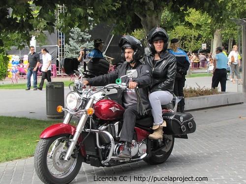 Reunión Harley Davidson y coches antiguos (3)