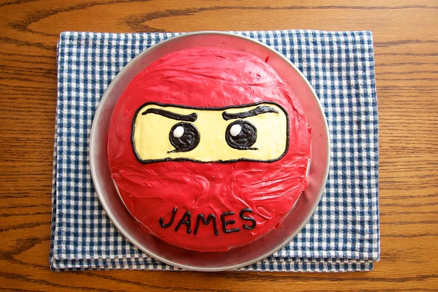 LEGO Ninjago Birthday Party Cakes