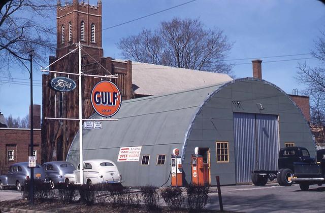 shoemanthals garage fredonia ny 1948