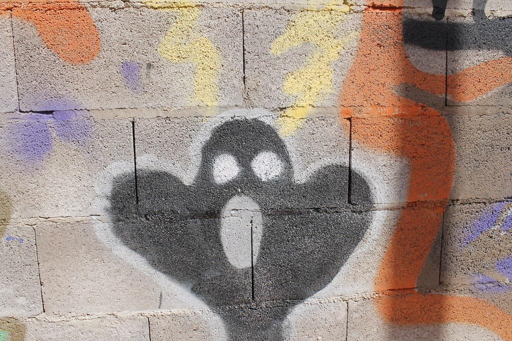 graffiti en la calle