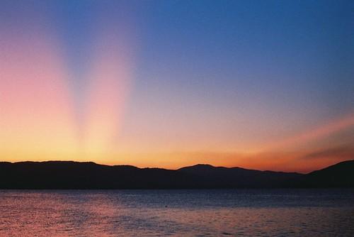 sunset film zenit danube dunav donjimilanovac djerdap zenit12sd