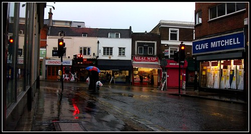 Croydon in the rain 17/09/11.