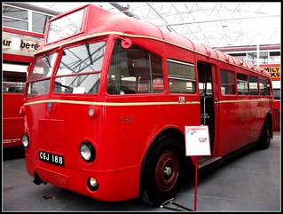 London transport AEC Q type Q83. London Bus Museum 18/09/11.