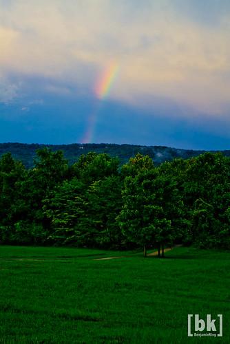 rainbow huntsville alabama storms