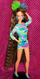 1991 Totally Hair Barbie (B.N)