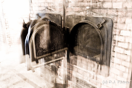 Oven Door in Auschwitz by DJP3tros