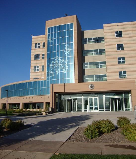 Adams County Judicial Center Detail (Brighton, Colorado