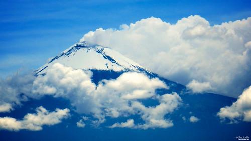 blue naturaleza nature azul méxico clouds landscape mexico volcano nikon paisaje nubes coolpix puebla p500 professionalphotography volcán popocatépetl nikonp500 nikoncoolpixp500 coolpixp500 fotografíaprofesional mexicanphotographers fotórgafosmexicanos