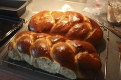 dessert(0.0), meal(1.0), breakfast(1.0), baking(1.0), tsoureki(1.0), bread(1.0), baked goods(1.0), challah(1.0), bakery(1.0), food(1.0), viennoiserie(1.0), cuisine(1.0), brioche(1.0), danish pastry(1.0),